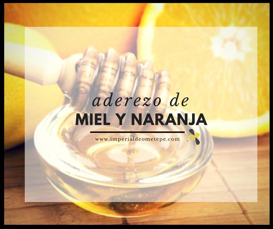 Naranja y miel